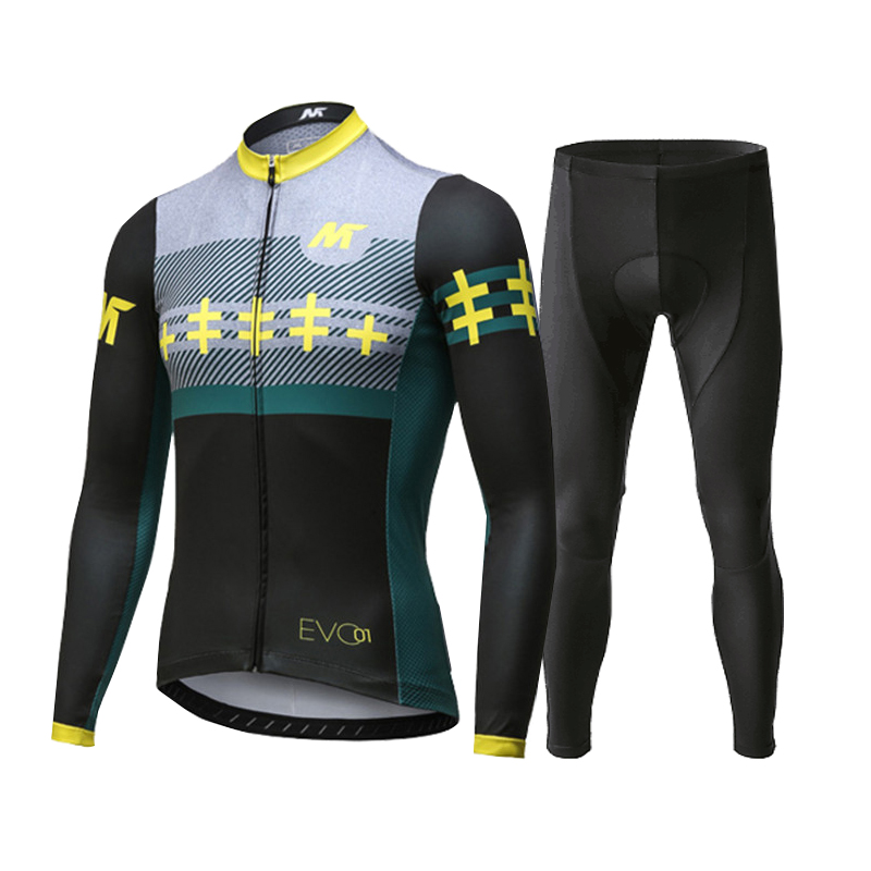 Maisenlan New Spring and Summer Long-sleeved Cycling Suit Men's Bicycle Mountain Bike Super-energy Leisure Clothes