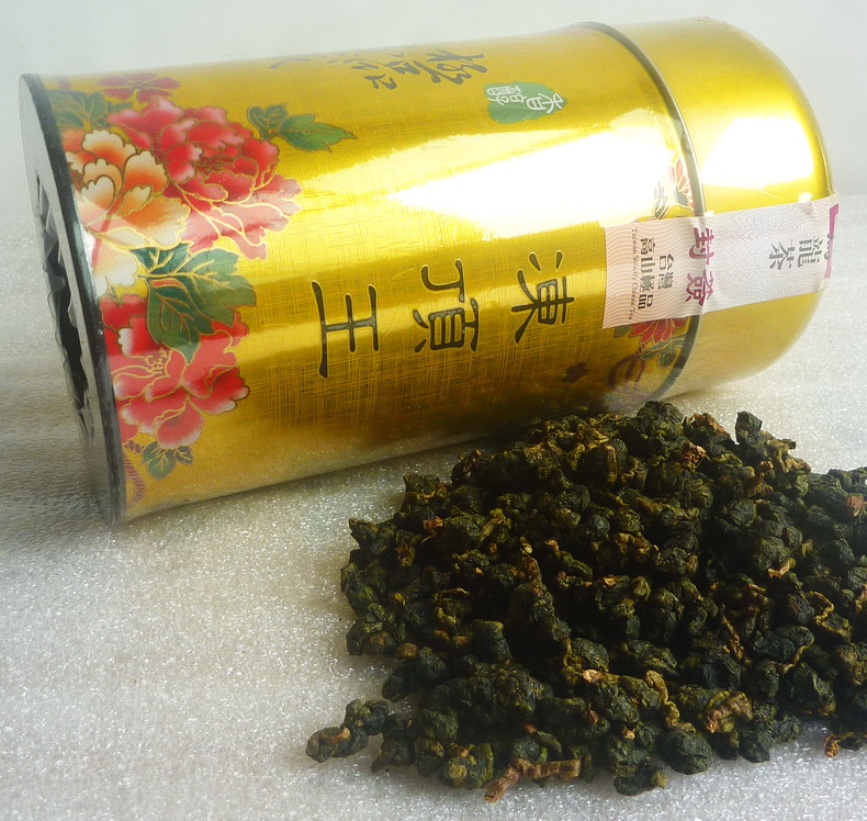 Wuliangye Taiwan Frozen Top King Authentic Frozen Top Oolong Tea Premium Lugu Township Original Alpine Tea Gift Box
