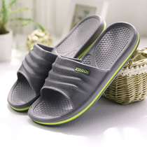 Summer home sandals mens and womens bathroom slippers non-slip couple home indoor bath floor EVA slippers