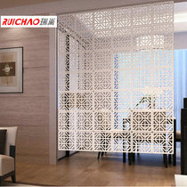 Rui Nest Simple Retro square hanging screen partition Xuan closed wall living room carving hollowed hanging screen