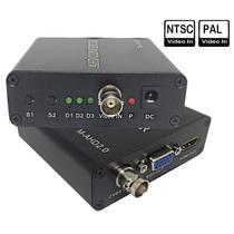 AHD в HDMI VGA CVBS монитор конвертер HD коаксиальный BNC многофункциональный конвертер 1080P