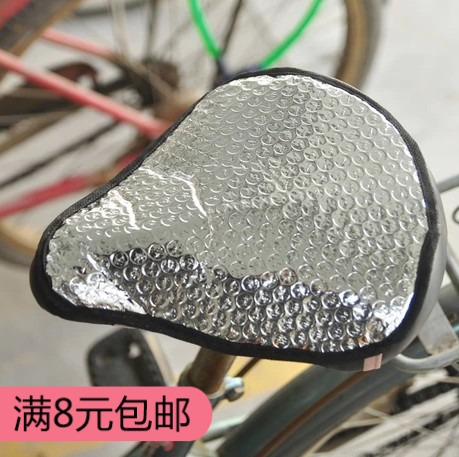 Electric bicycle sunscreen, waterproof seat cover, cushion cover, cushion cover, bicycle seat cover, heat insulation and ventilation