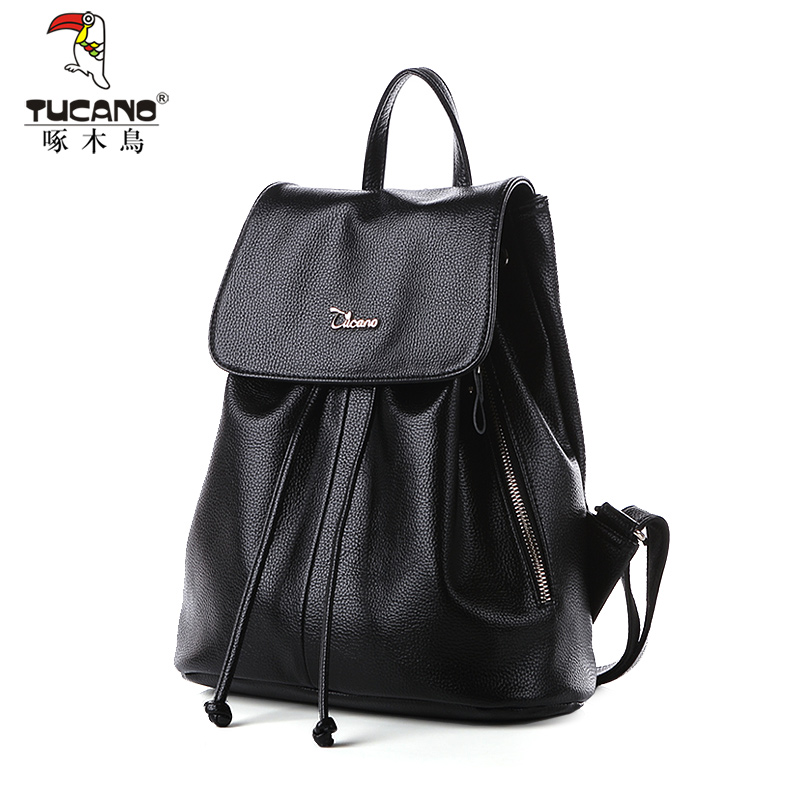 Woodpecker handbag Korean version of the new shoulder bag female student bag backpack travel bag big casual tide ladies bag