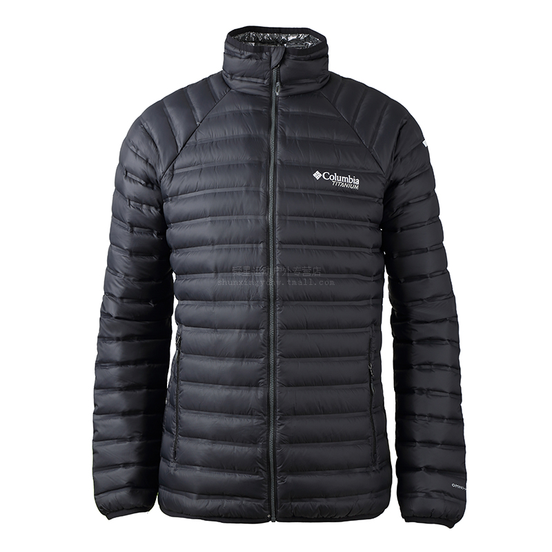 Clearing warehouse Colombia autumn and winter men's thermal reflection, thermal insulation and waterproof velvet down jacket WE1194
