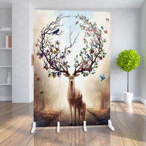European folding screen partition fashion hotel office small mobile Bedroom living room modern simple folding screen