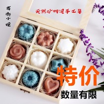Christmas Handmade Soap Gift box practical gift company activities staff welfare with hand gift birthday gifts to send Elders
