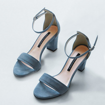 2018 Roma mid-heel summer student with Strapless sandals