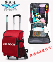 Boliton be better pull rod kit door Service housekeeping bag multifunctional large capacity cleaning bag