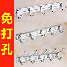 Hanging hook strong sticking hook Viscose door back hanging wall hanging clothes hanger punch-free toilet clothes hook