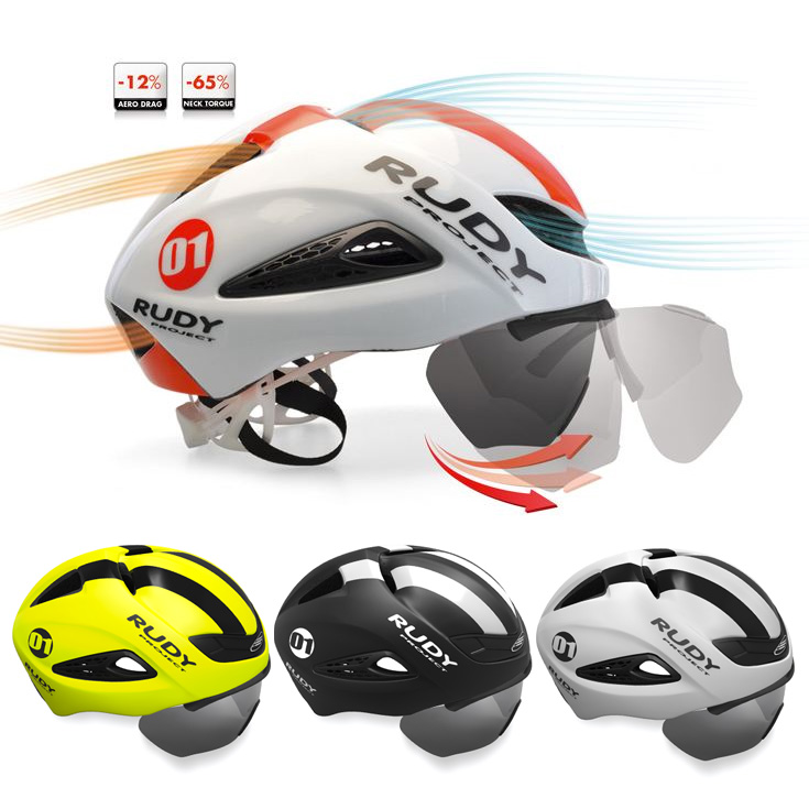 [Current] Rudy Project Boost 01 Road Helmet Triathlon / Time Trial Special 2017