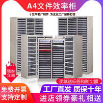 File cabinet 18 36 pumping file finishing cabinet A4 paper drawer with door efficiency cabinet Office cabinet Data file cabinet