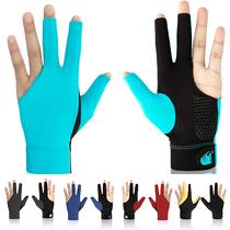 Professional billiard gloves three-finger gloves thin breathable professional high-grade non-slip billiard gloves finger snooker gloves