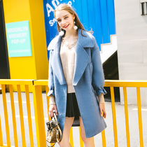 Fat mm wool slim old fat sister reduction in autumn and winter coats
