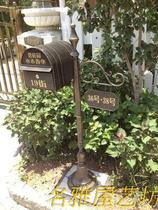 Outdoor Mailbox Villa Letter box Outdoor floor posting box Garden submission Boxes Community opinion suggestion Box wedding pendulum