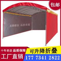 Activities rain shed rural mobile wine tent red and white happy wine barn wedding celebration shed big row parking stalls