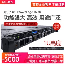 Dell Dell PowerEdge R230 R240 file storage database internet cafe Xeon E3 financial ERP Kingdee with friends web rack 1