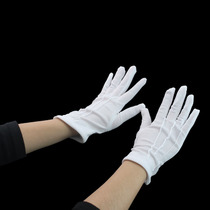 Movie Props perform hip-Hop adjustable parade Gloves cosplay mechanical traction walking Ghost Dance White Gloves