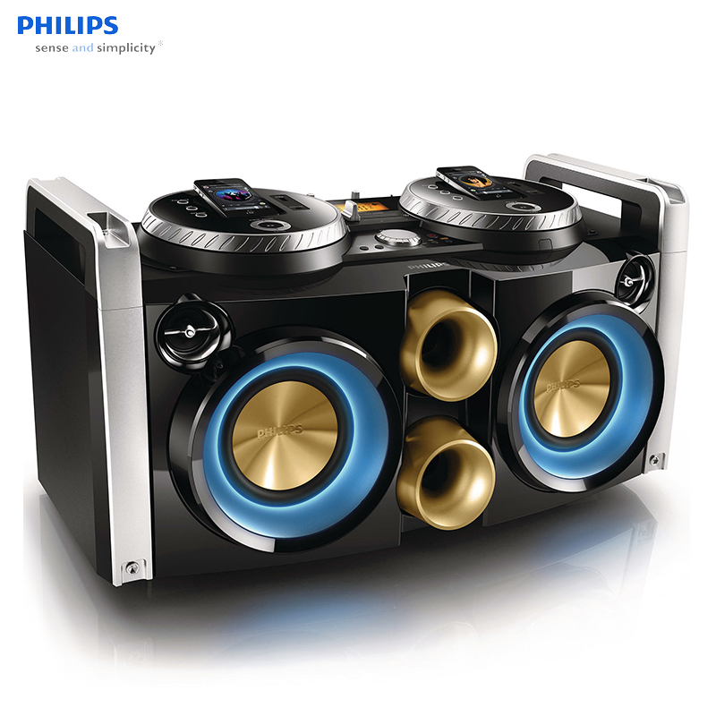 Philips FWP3200D disc player hifi speaker / DJ party / bar / Apple stereo / karaoke OK