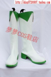 VOCALOID Gumi cosplay boots Megpoid version bhiner cosplay costume