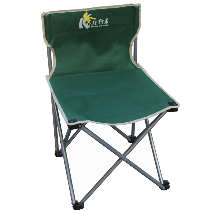 Wilderness Outdoor large folding chair Fishing chair Leisure chair Portable beach chair Self-driving stool