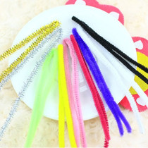 18 yuan 100 color hair roots non-woven DIY handmade drum force velvet shaping line tops