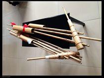 Folk all handmade 6 tubes g modulation Lu Sheng 3 sound awn lu Sheng Miao folk musical instruments large Lu Sheng