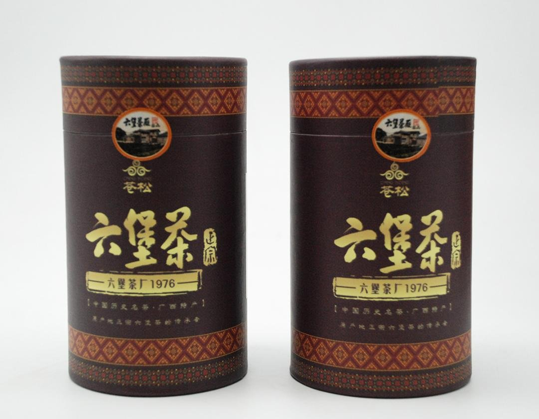 Cangsong Liubao Tea 2011 300g Gift Box Guangxi Wuzhou Specialty Travel Couture 7 Years Chen Tea