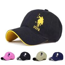 Mens and womens same cotton polo embroidery baseball cap
