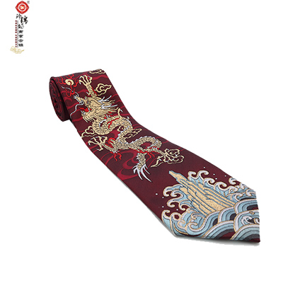 Nanjing Yunjin Silk Business Tie Wedding Gift
