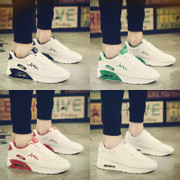 The summer air sport shoes shoes leisure shoes increased Korean tide running shoes all-match white shoes