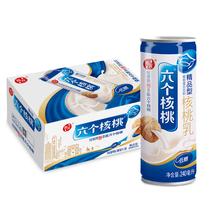 (CAT supermarket) Walnut Walnut milk beverage six boutique-type 240ml*20 tank drinks