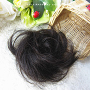 Recommend! Real hair wigs half ring rib head roll balls of scalp hair fluffy natural fashion.