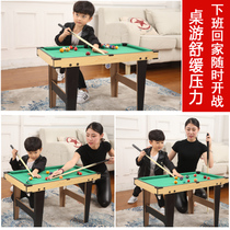 Child King Size American Pool Table Home Lift Folding Snooker Children  Under 5 Billiard Tables