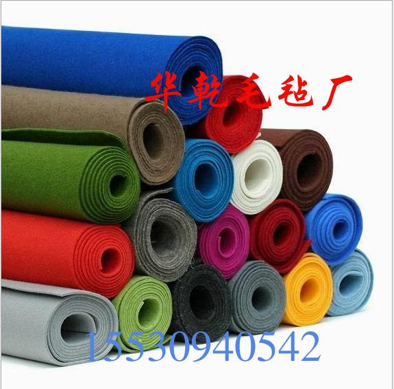 Industrial color felt cloth color painting felt mat wool felt background tablecloth bag with felt 3mm