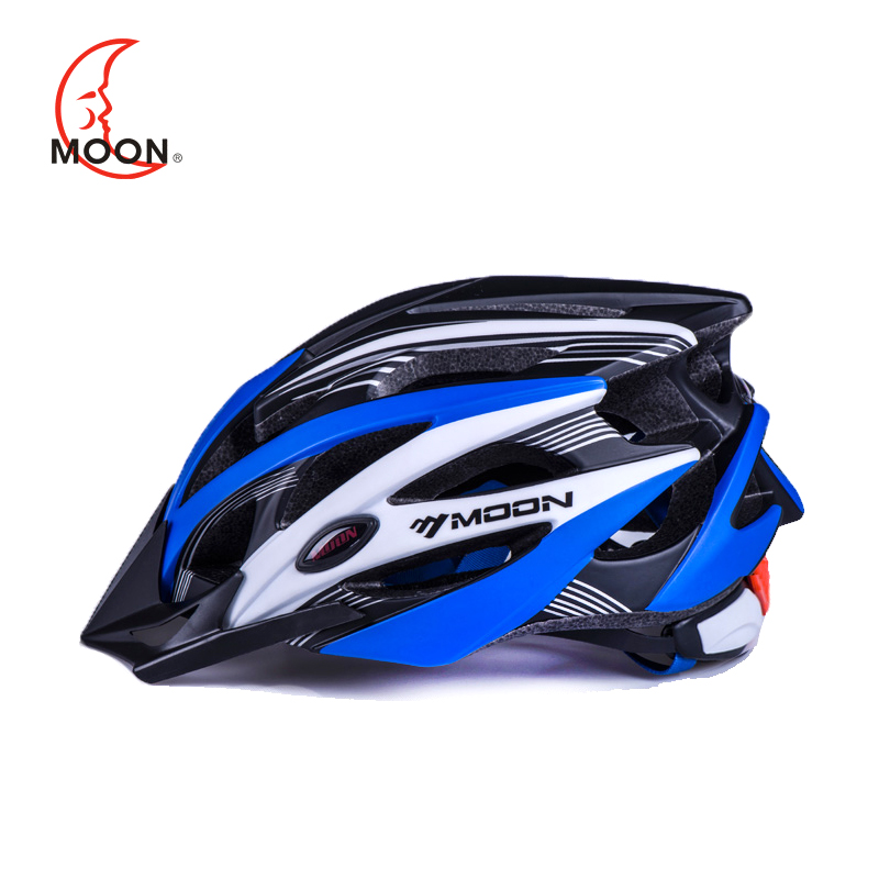 Moon mountain bike riding helmet riding equipment road bike helmet integrated molding insect net men and women