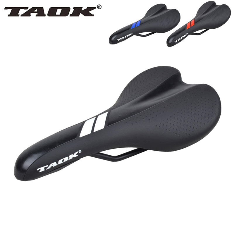 TAOK Comfortable Mountainous Bicycle Cushion Highway Bicycle Cushion Dead Flight Universal Saddle Parts Riding Equipment