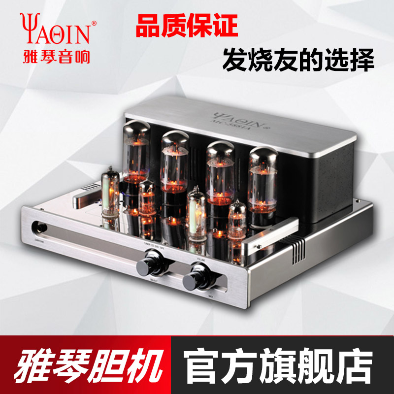 Yaqin MC-5881A Cholecyst Electronic Tube Cholecyst Power Amplifier Fever HiFi High Fidelity Power Amplifier