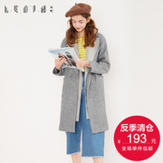 Season Yurakucho new dress tide fake two coat slim long shirts in Korean women