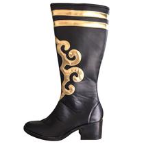 New Xinjiang dance Boots minority Dance Boots Custom practice boots high-barrel dance boots show boots men and women