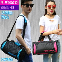 sports bag man Messenger bag portable travel bag large fitness shoes bit cylinder shoulder bag basketball bags