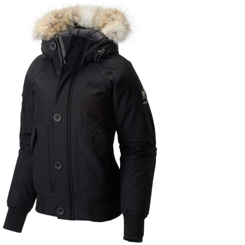 Sorel / ice bear winter warm thick short hooded goose down jacket female American direct mail 1640601