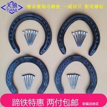 Horse palm ordinary speed hoof distribution hoof nail training to teach horses equestrian supplies horseshoe