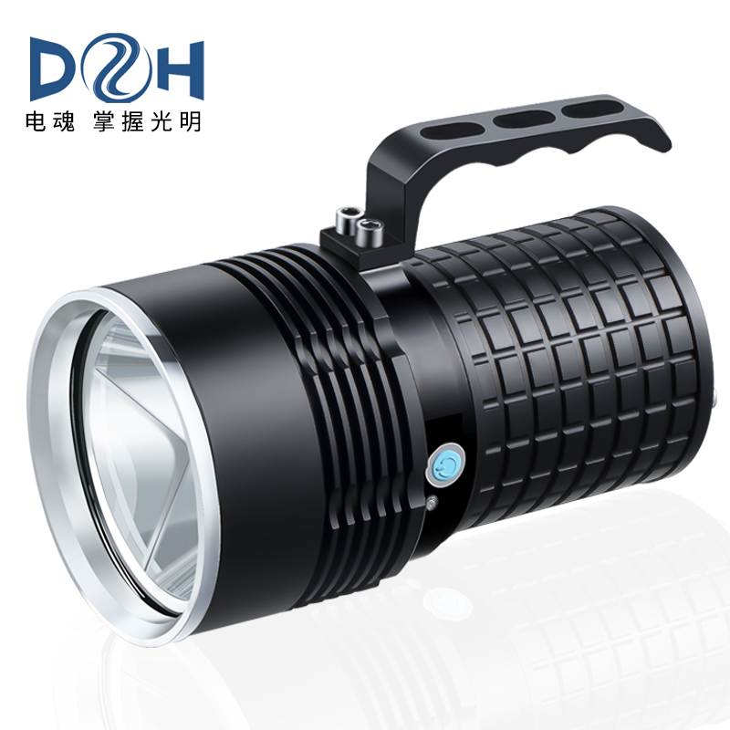 Telephonic flashlight charging 26650 tele-multifunctional searchlight remote ultra-bright waterproof outdoor portable