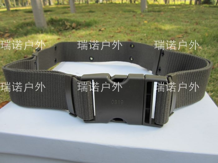 Authentic weaving outer belt army fan canvas standard canvas belt men training camouflage belt