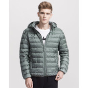 A21 removable hooded jacket male genuine youth winter coat fashion color feather