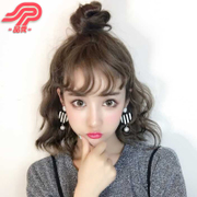Female hair fluffy wig Pinxiu shave hair lady Korea spray volume short hair Bobo bangs head rolls
