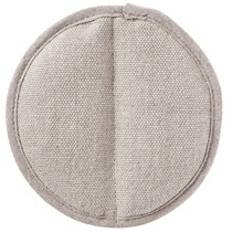 MUJI thick linen insointed hand clip