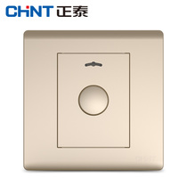 Zhengtai Switch Socket panel new7d Champagne Gold Touch-controlled delay switch 300W 86 panel