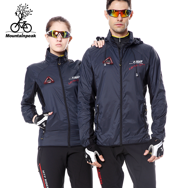 Summer cycling windbreaker cycling clothing sunscreen jacket for men and women mountain bike spring and autumn bicycle windbreaker outdoor breathable