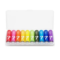 Millet Rainbow No. 7th Battery 10 pack alkaline dry Battery Home Remote control toy battery